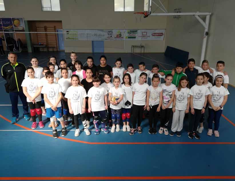 """Δυναμικό ξεκίνημα για τον σύλλογο """"Αχιλλέας Volleyball"""""""