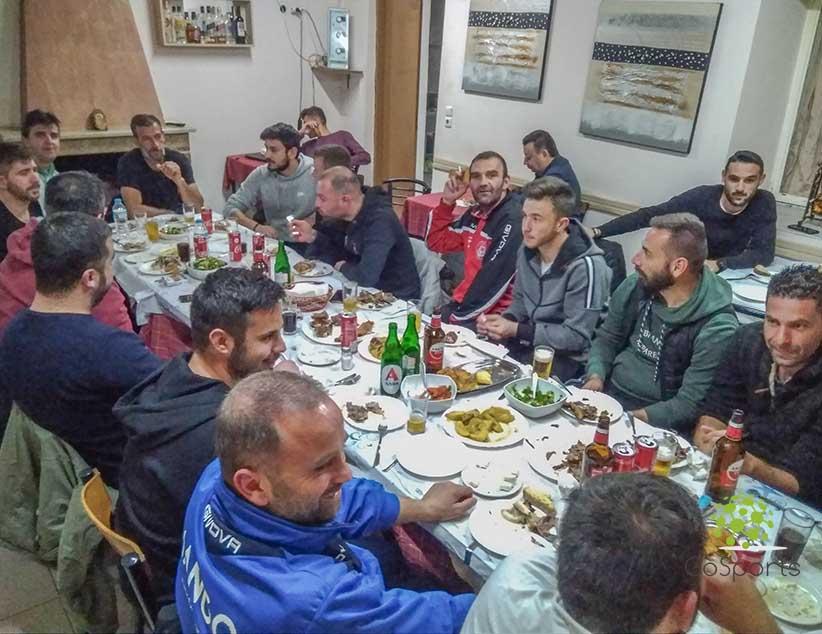 Γεύμα και κοπή πίτας για τον ΠΑΣ Παλιάμπελα.