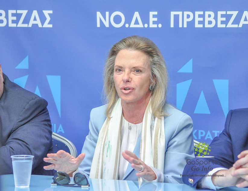 Ελίζα Βόζεμπεργκ: «Το πρόγραμμα της ΝΔ δίνει πραγματικά μια προοπτική- η διαφορά διευρύνεται με το Σύριζα όσο περνάει ο καιρός»