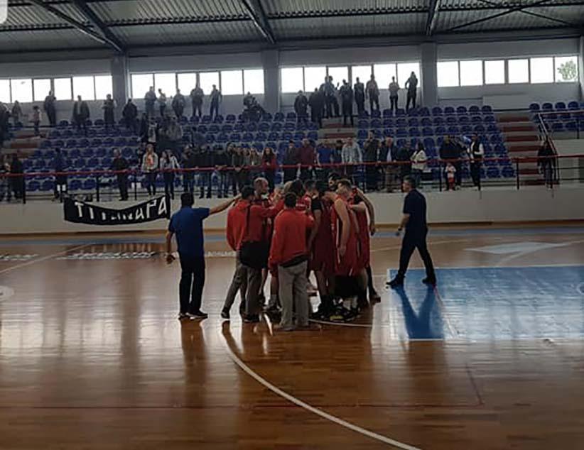 Μεγάλη εκτός έδρας νίκη για τη Δόξα Λευκάδας κόντρα στους Τιτάνες Παλαμά