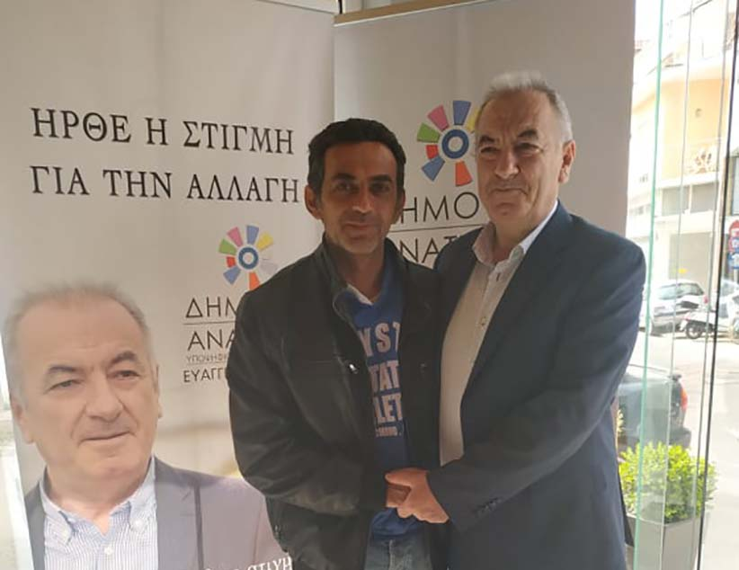 Ο Κώστας Τσάλης υποψήφιος σύμβουλος τοπικής κοινότητας Πρέβεζας