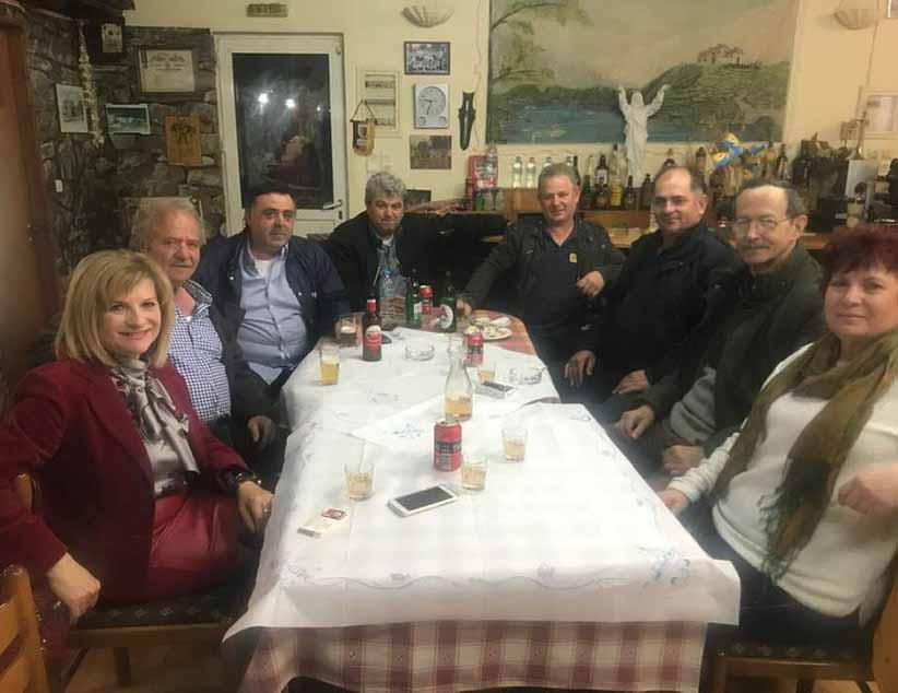 Συνεχίζει την περιοδεία της η Υποψήφια Περιφερειακή Σύμβουλος Χριστίνα Κριτσιμά