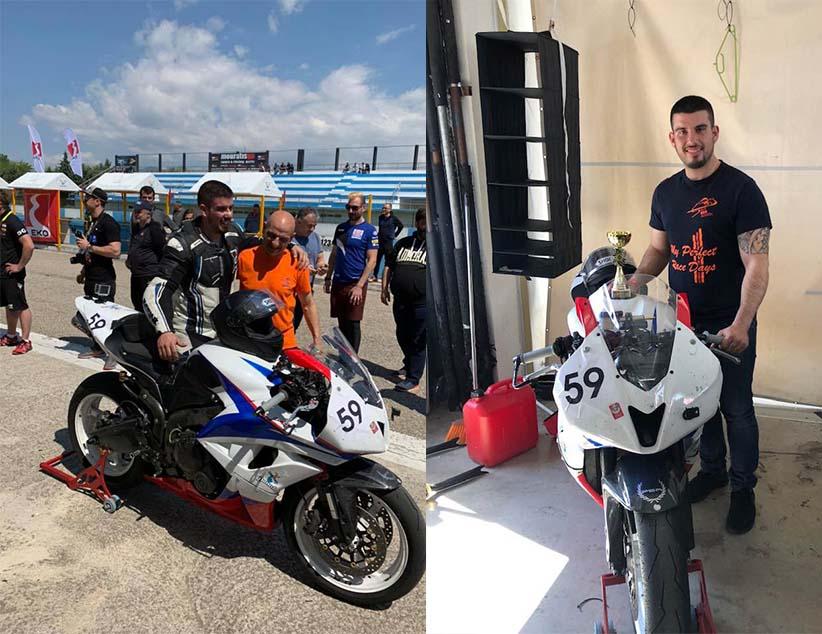 1ηθέσηστην κατηγορία F600 στο Βαλκανικό Πρωτάθλημα Ταχύτητας για τον Στέφανο Δέσκα
