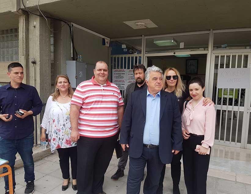 Άσκησε το εκλογικό του δικαίωμα ο επικεφαλής της παράταξης «ΗΠΕΙΡΟΣ ΟΛΟΝ» κ. Δημήτρης Δημητρίου
