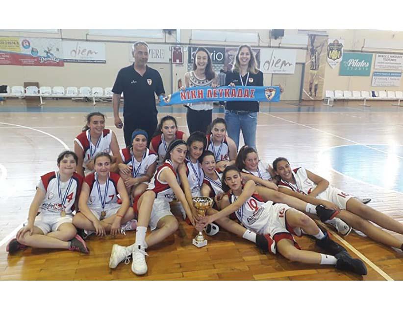 Νίκη Λευκάδας: Κατέκτησαν το πρωτάθλημα οι Παγκορασίδες