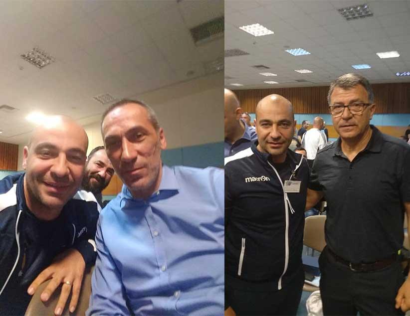 Στο 1ο Πανελλήνιο επιμορφωτικό σεμινάριο προπονητών ποδοσφαίρου συμμετείχε ο Βλάσης Ναστούλης