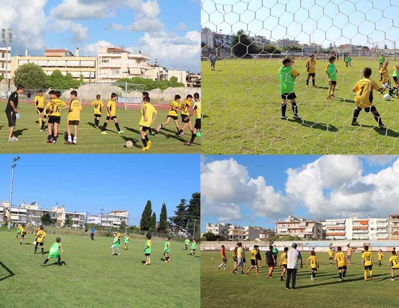 Επαναλειτουργεί από το φθινόπωρο η ακαδημία ποδοσφαίρου του ΠΑΣ Πρέβεζα – Ξεκίνησαν οι εγγραφές