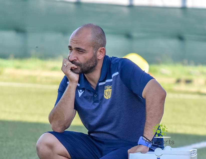 """Βλάσης Ναστούλης: """" Είμαι πολύ ευχαριστημένος από την προσπάθεια των ποδοσφαιριστών μου"""""""