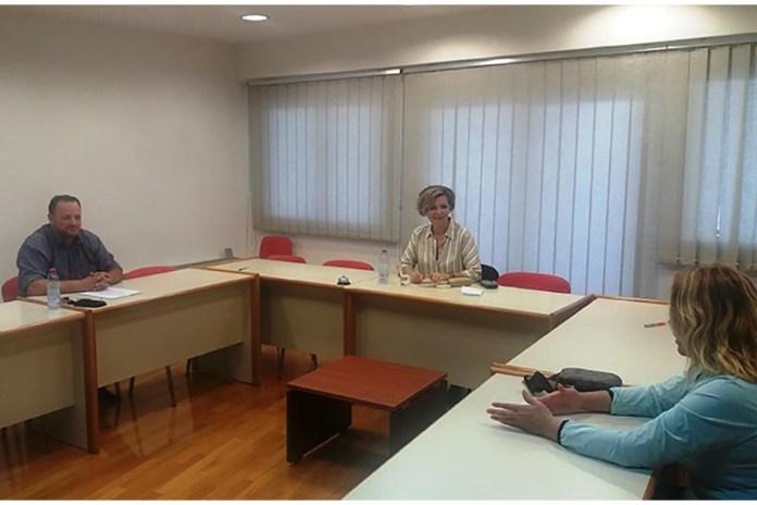 Συνάντηση Όλγας Γεροβασίλη με Δ.Σ. Εμπορικού Συλλόγου Άρτας