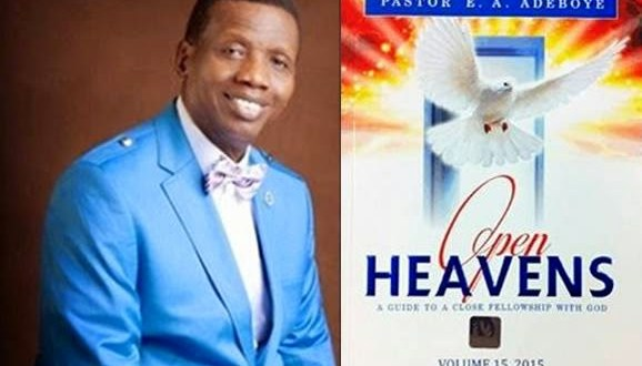 Open Heavens - WHAT ABOUT YOUR HOUSEHOLD?