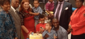 David Oyedepo, FEB Idahosa and family