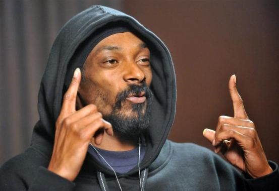 American rapper Snoop Dogg, Wellington, New Zealand, Monday, October 27, 2008. Credit:NZPA / Ross Setford.