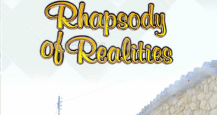 Rhapsody Of Realities - A Lifestyle Of Rest