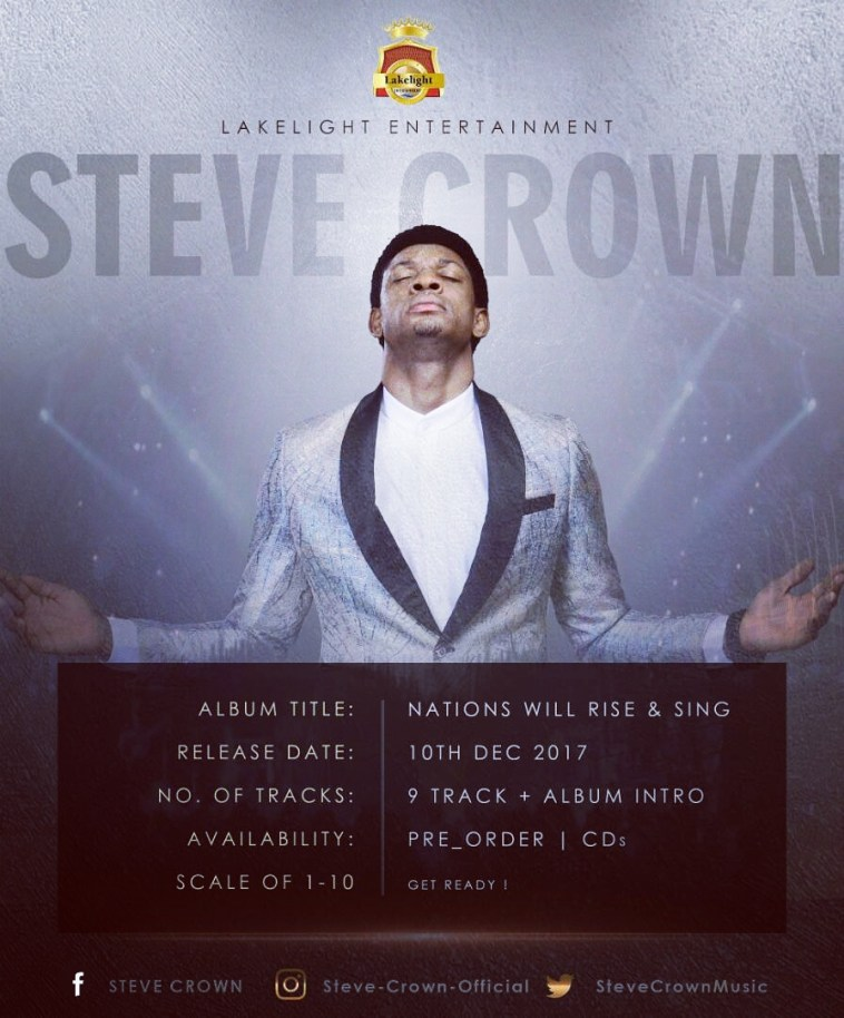 Steve Crown - Nations Will rise and sing Album