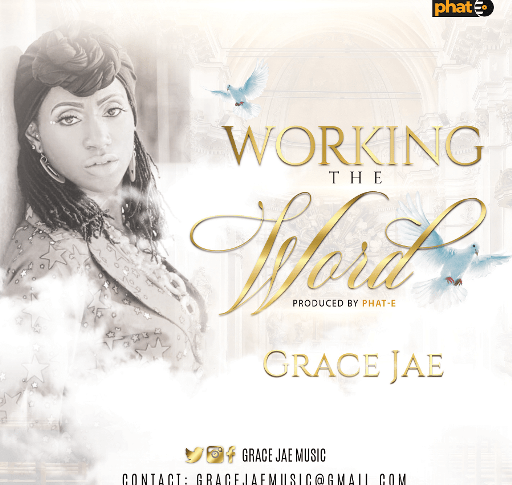 Grace Jae working the word cover
