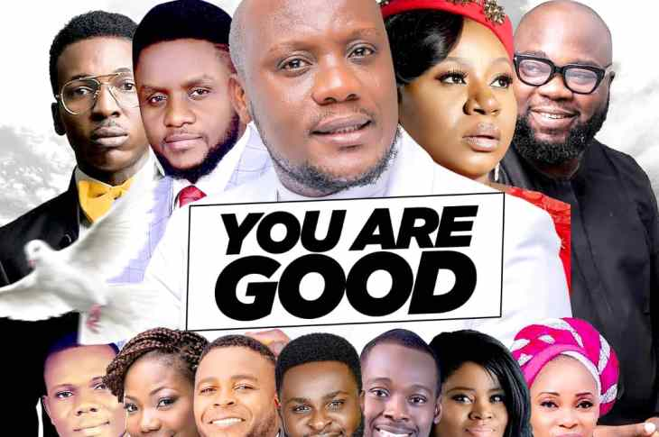 PMyk - YOU Are Good mix front cover