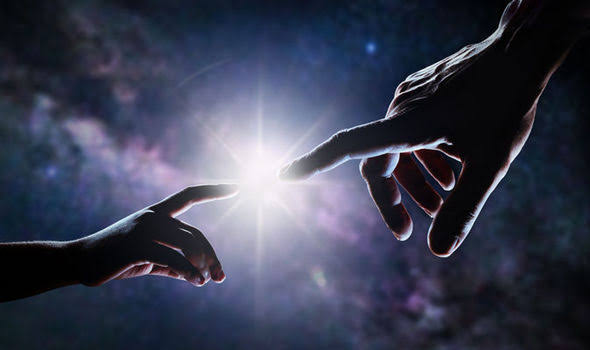 hand of God images