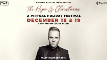 """MATTHEW WEST: """"THE HOPE OF CHRISTMAS"""" CONCERT LIVE"""