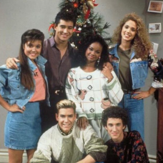 Saved by the Bell cast reunite for group dinner - Goss.ie