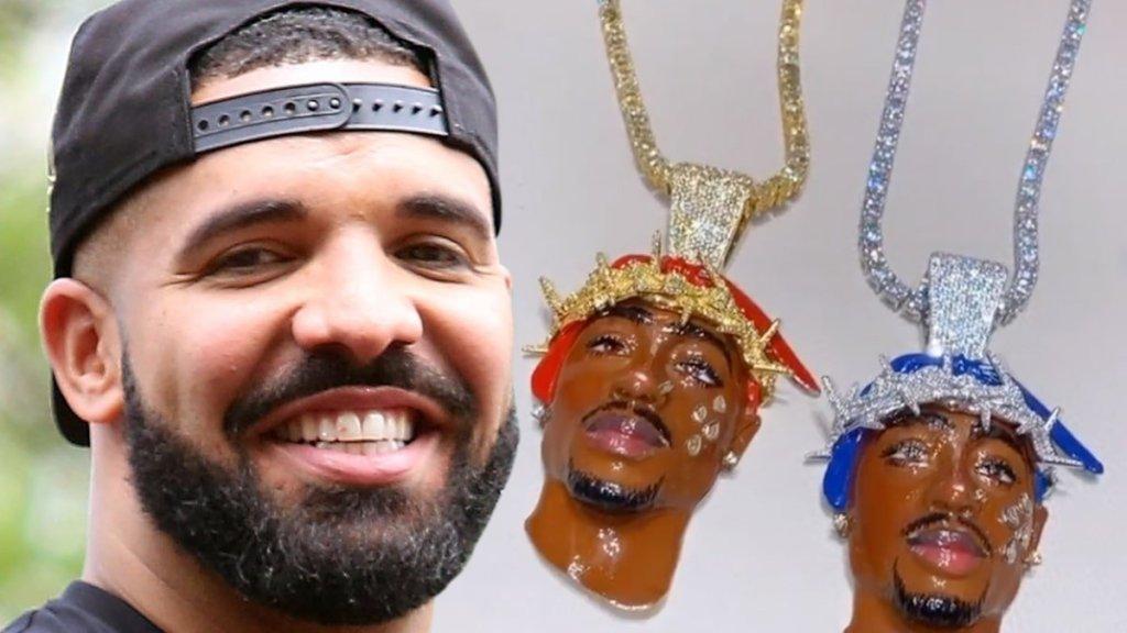 Drake Honors Tupac Shakur with Twin Pendants Worth $600,000