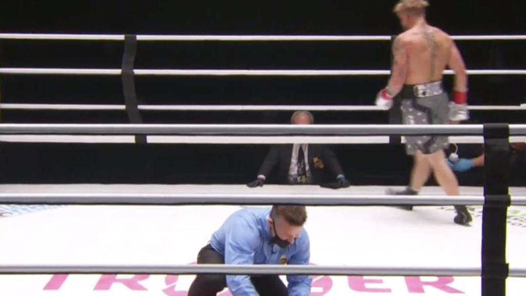 Jake Paul Knocks Nate Robinson Out Cold, Violent KO