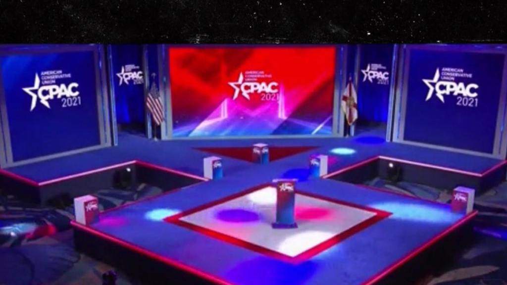 CPAC Stage Design Looks Similar to Nazi Symbol Used by SS Platoon