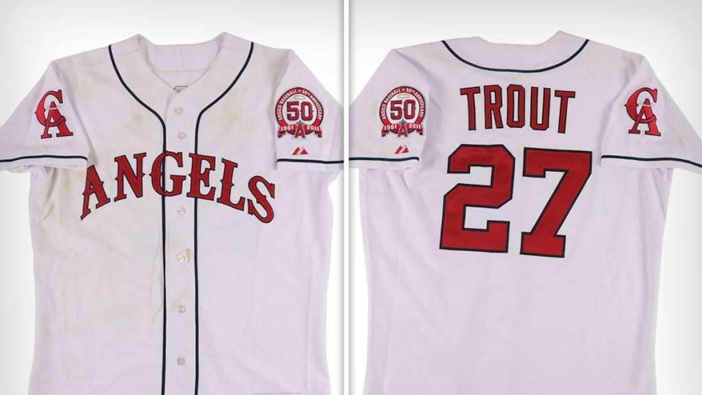 Mike Trout's 1st MLB Jersey Hits Auction Block, Should Sell For Over $1 Mil!