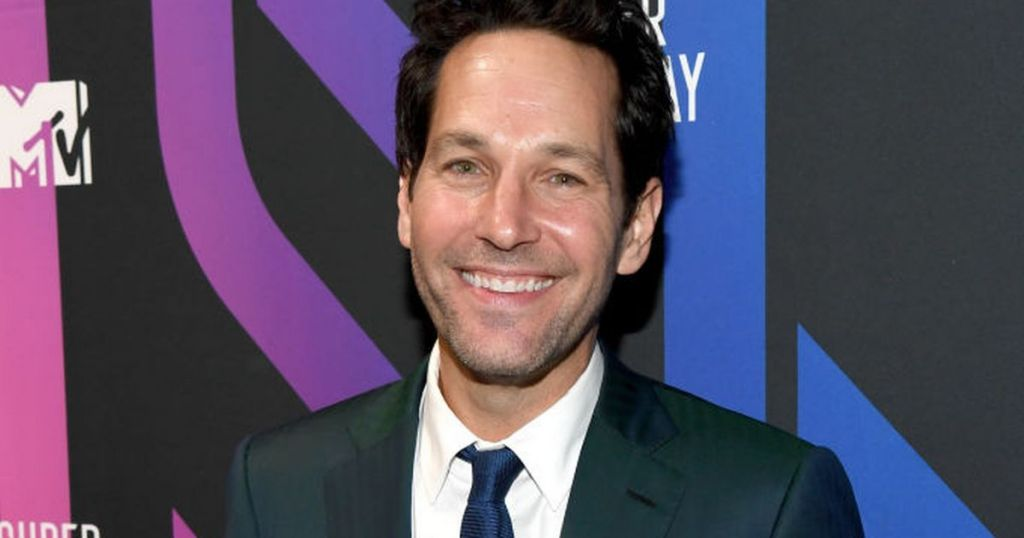 Paul Rudd looks unrecognisable after snowy white hair transformation in new role