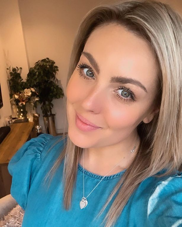 Amy Dowden says her Crohn's medication can make her body be more bloated