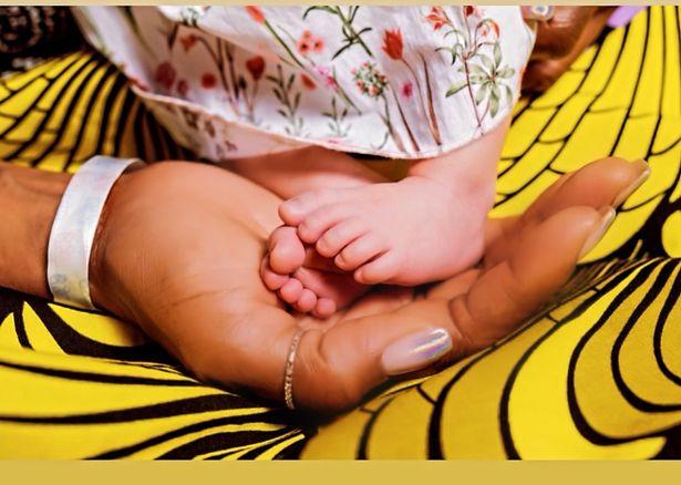 Naomi Campbell baby