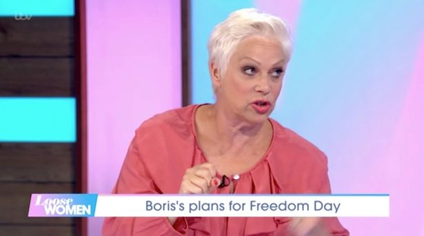 Denise Welch Covid-19
