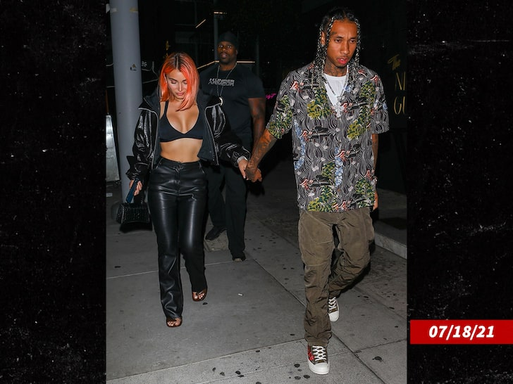 Tyga Cooperating with Authorities After Ex-GF Claims He Got Physical