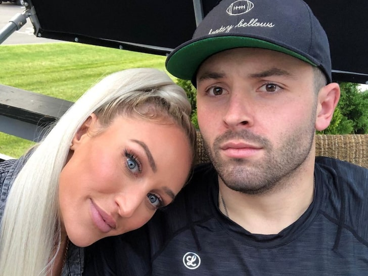 Emily and Baker Mayfield Together