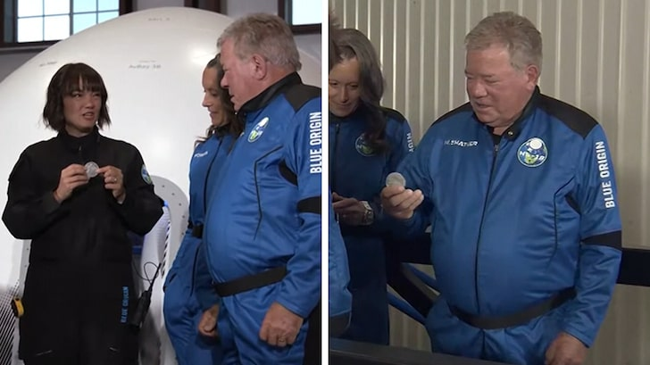 William Shatner Launching to Space with Jeff Bezos' Blue Origin, Watch Live Stream