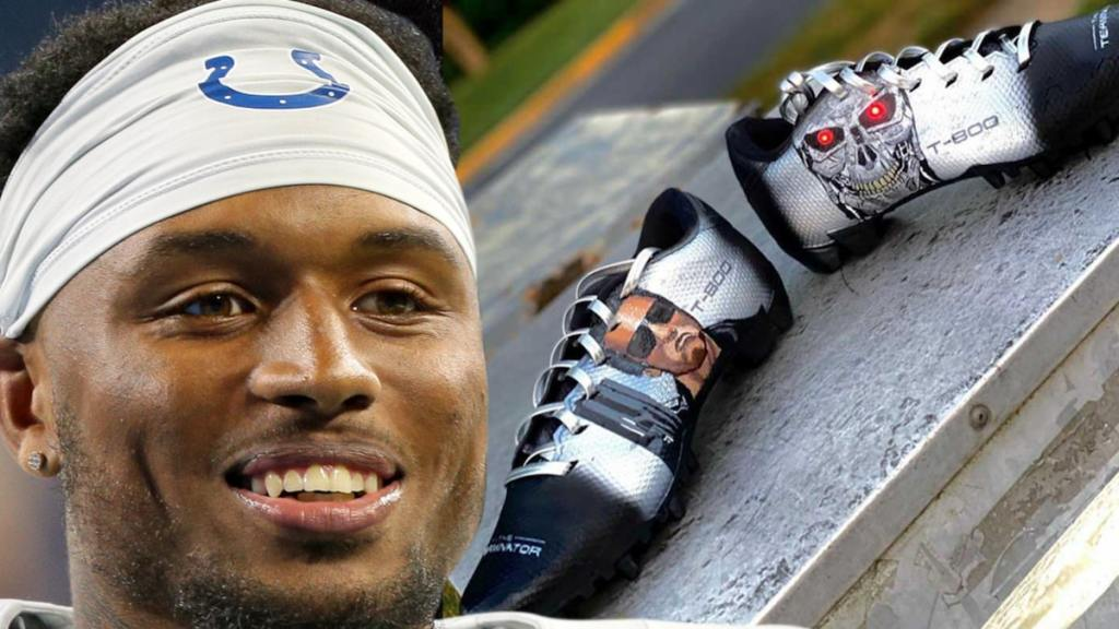 Colts' Isaiah Rodgers Cops Insane Light-Up Terminator Cleats
