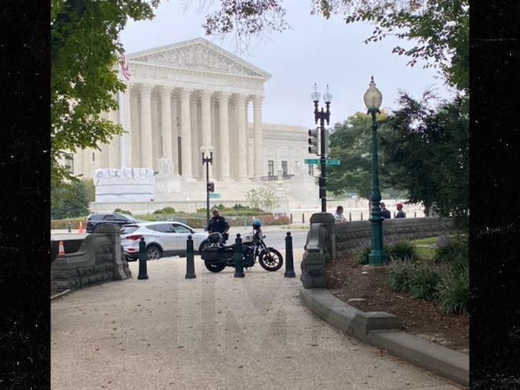 Cops Arrest Man Who Triggered U.S. Supreme Court Lockdown