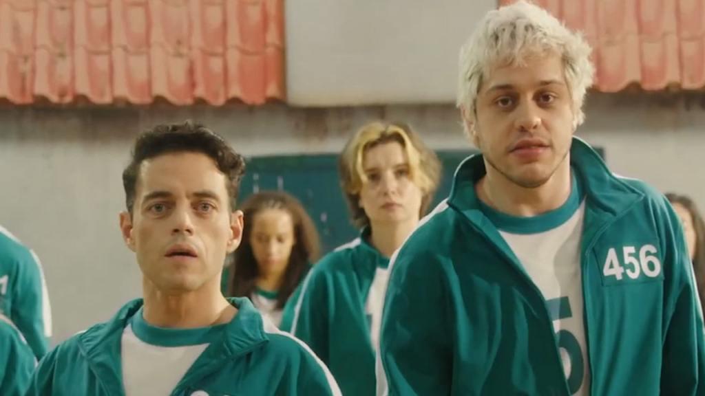 Pete Davidson and Rami Malek Play 'Squid Games' on 'SNL'