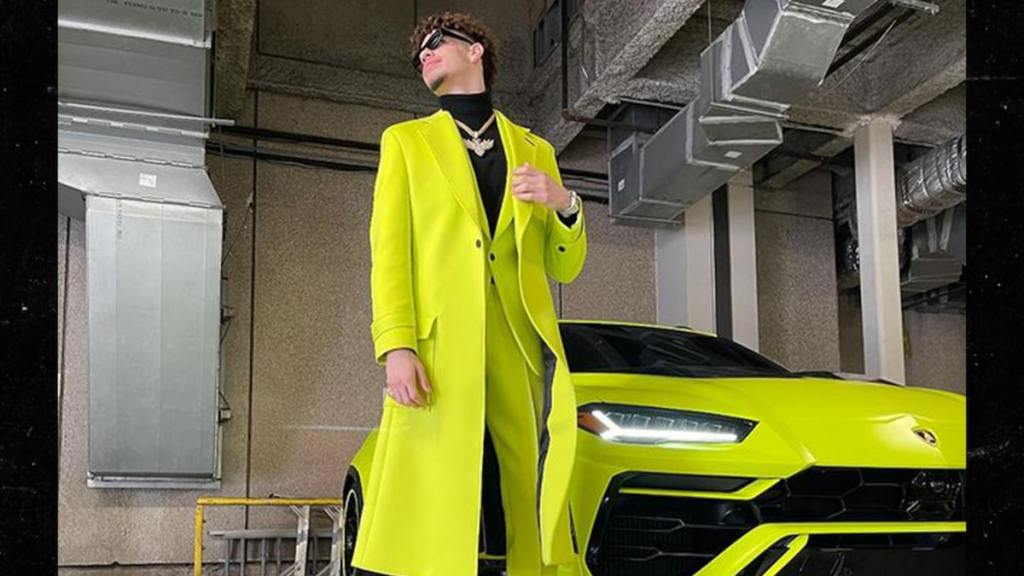 LaMelo Ball Matches Neon Suit With Lambo After Big Game