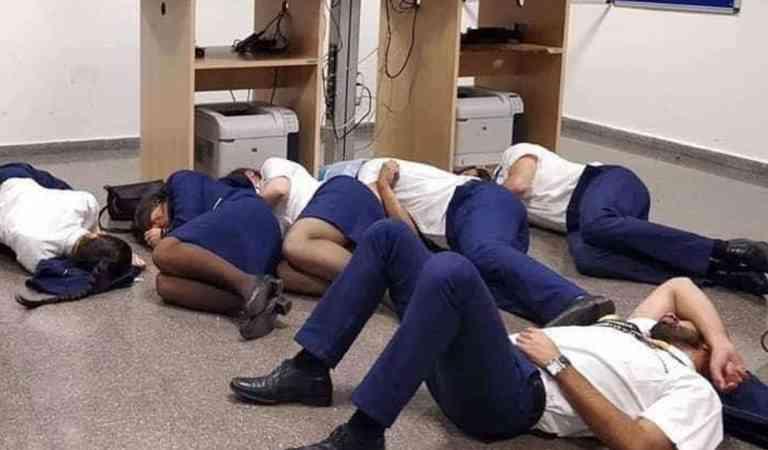 Авио компанија отпушти шестмина вработени поради лажни фотографии објавени на твитер