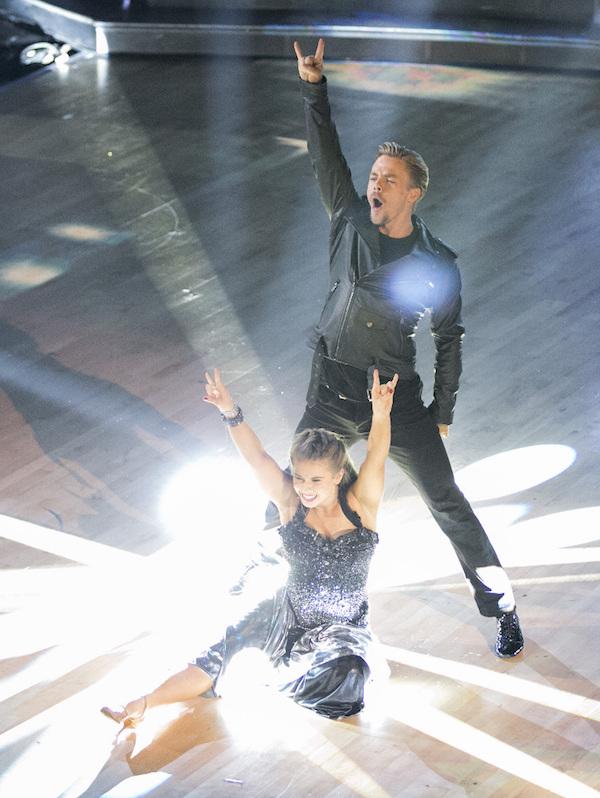 Dancing with the Stars 2015: Week 2 - Bindi and Derek ...