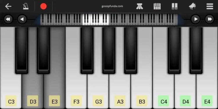 MIDI piano in walk band