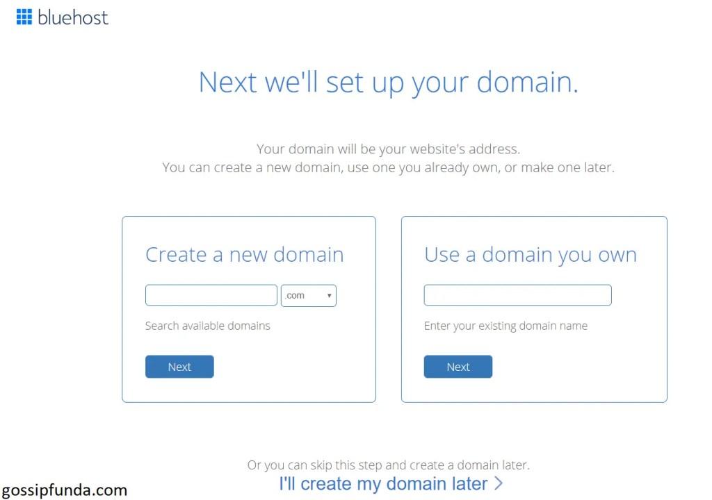 Setting Up Domain