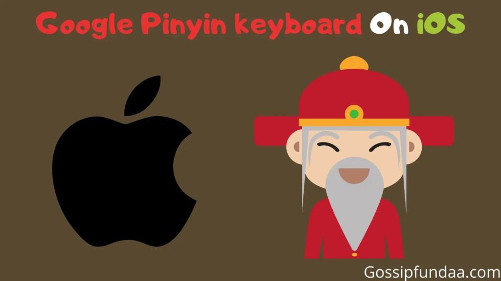 Google pinyin input on iOS