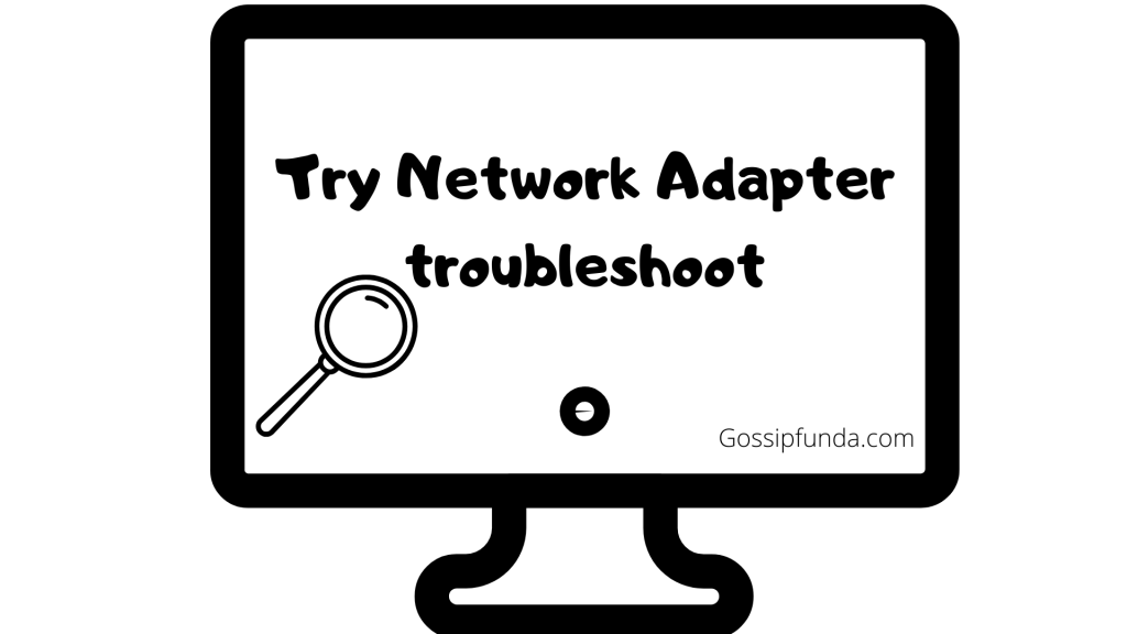 Troubleshooting the network adapter