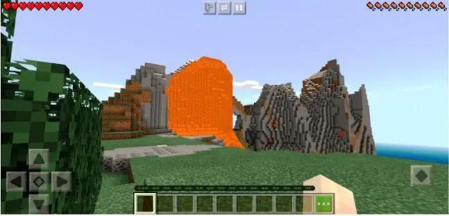 Lava mountain