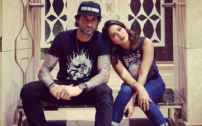 """Sunny Leone and her husband Daniel Weber share a silly dance video revealing how they """"keep the spark alive"""" after spending 10 years with each other."""