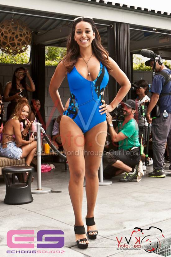 Draya Michele Pool