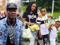 Asamoah Gyan and Children