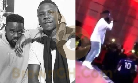 BET Hip Hop Awards, Stonebwoy, Sarkodie Celebrates Liverpool's UCL Win By Performing Stonebwoy's 'Kpoo K3k3'