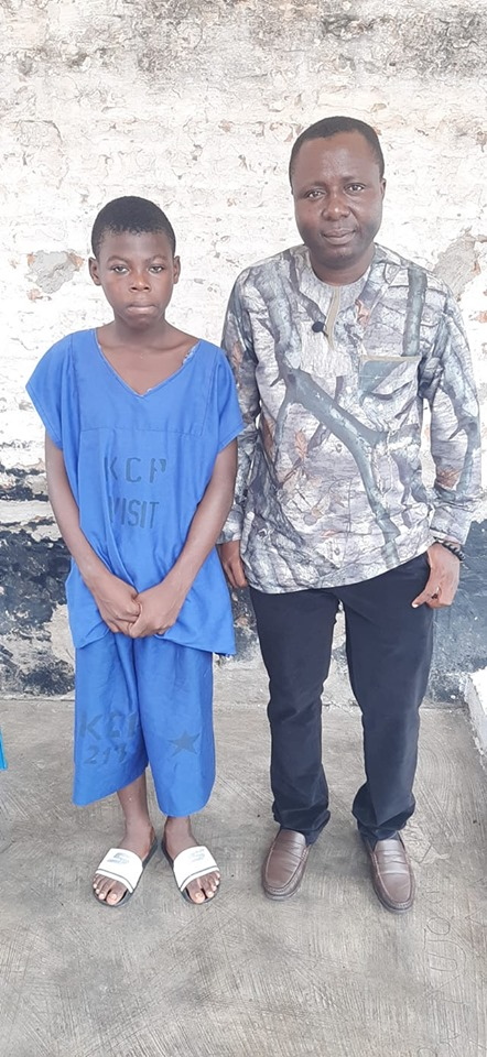 Innocent 14-yr-Old Orphan Jailed For 2 Years